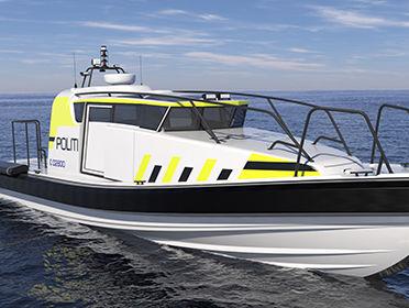 VIKING Norsafe Munin S1200 police boat