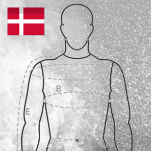 Measurement form banner Danish VIKING firesuits