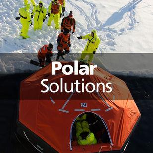 VIKING polar solutions liferaft