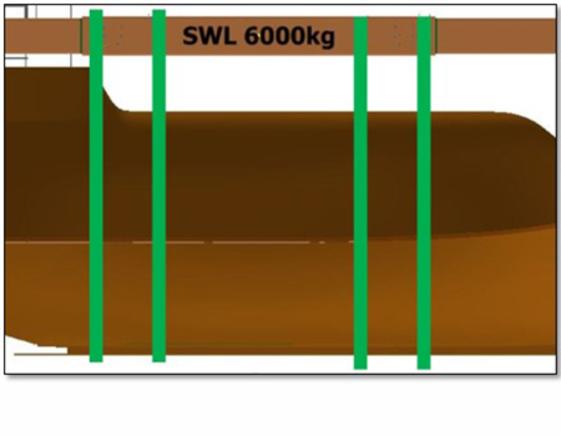VIKING Norsafe Univeam SWL 6000kg