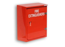 Cabinet for 2 x fire extinguishers (JB02)