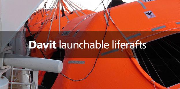VIKING Davit launched liferafts