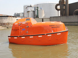 VIKING Norsafe JYN-57 totally enclosed lifeboat - maximum 26 persons