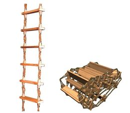 Embarkation Ladder in Wood
