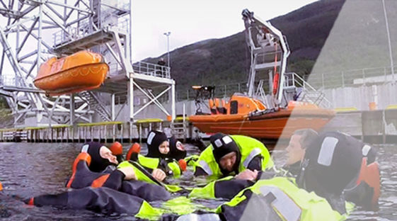 VIKING Safety Academy customized training of offshore crew