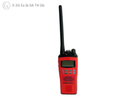 Radio, VHF, ATEX, Entel - HT-844, W. Display, Incl. Charger