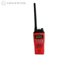 Radio, VHF, ATEX, Entel - HT-844, W. Display, Incl. Charger