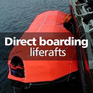 VIKING direct boarding liferafts