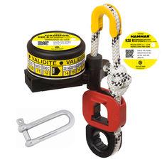 Hydrostatic release unit for liferafts, w/ shackle, Hammar H20