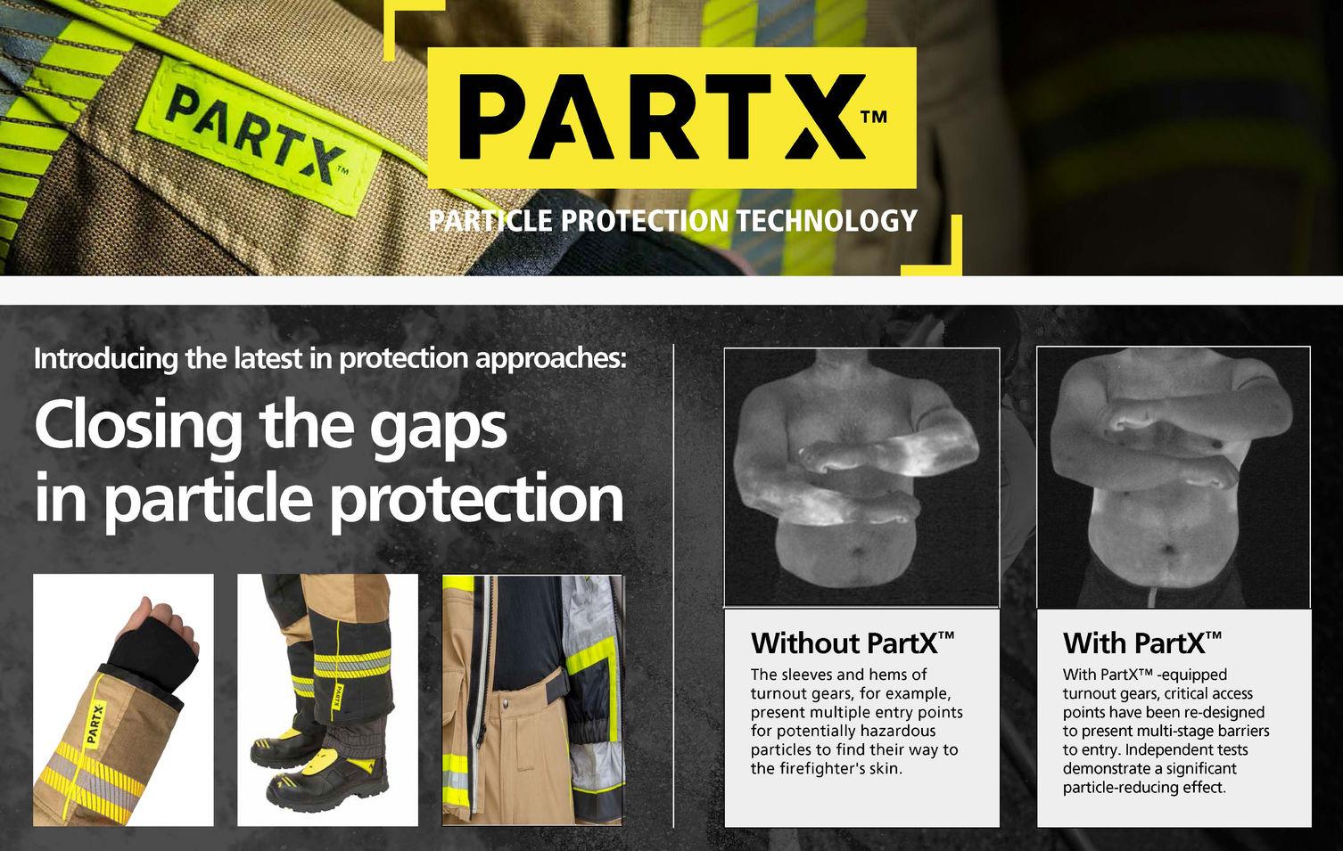 VIKING PartX Particle Protection Technology Fire fighter wear En469 Feuerwehr