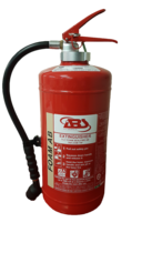 Fire Extinguisher, 9 Liter, AFFF Foam, Cartridge Operated, ABS