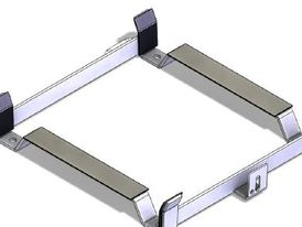 Stainless steel cradle, including lashing for 4DK+