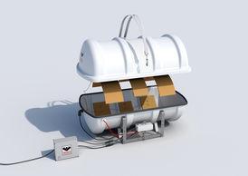 VIKING Polar Liferaft throw overboard 10 pers. 10DK+