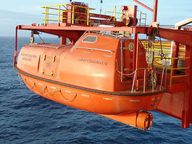 VIKING Norsafe Mathilda-7.4 totally enclosed lifeboat - maximum 50 persons