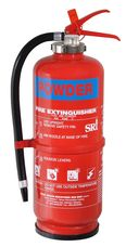 VIKING Fire Extinguisher, 9 kg, ABC Powder, Cartridge Operated