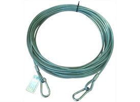 Fireproof safety line, 30 meter.