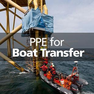 VIKING PPE boat transfer