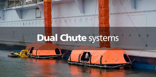 VIKING Dual chute systems MES