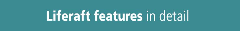 VIKING liferaft features button