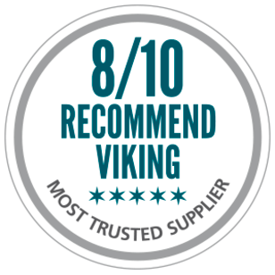 8/10 recommend VIKING as safety supplier